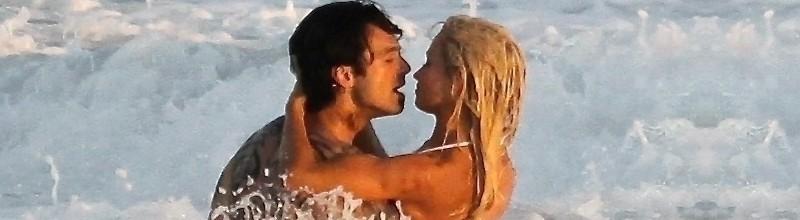 On set of 'Pam & Tommy' in Malibu